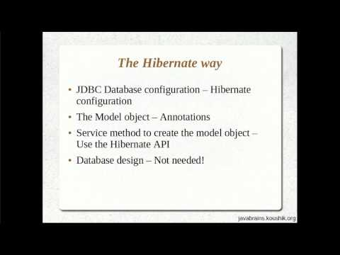 Hibernate Tutorial 03 Part 1- Writing a Hibernate Application