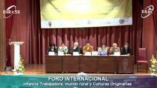 FORO INTERNACIONAL: Panel de Dialogo de Saberes (17/10/2017 Tarde)