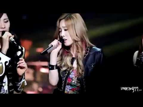 [Fancam] 120529 SNSD Taeyeon - Cater To You @ Sketchbook By Merong