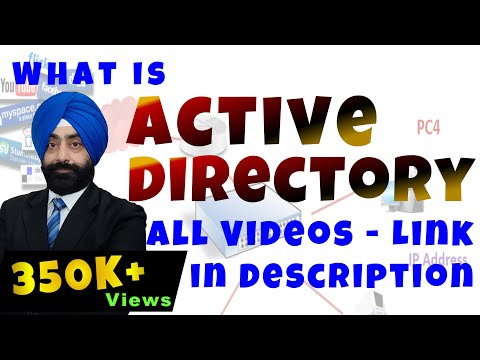 Active Directory in server 2008 An Overview in Hindi
