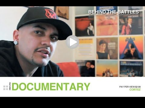 Behind The Battles: Cortez (Part 1/7) | Rap Grid Exclusive