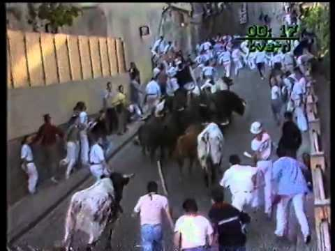 Encierro San Fermin Pamplona del dia 10 7 1986