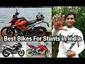 Top 5 Bikes For Stunts in India - My Opinion - Duke 390 / 200 - Apache 200 / 180 - Pulsar 220