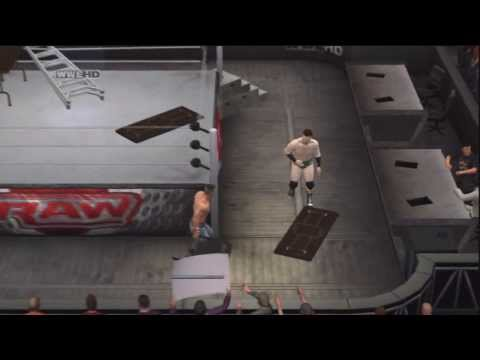 Smackdown vs Raw 2011 (PS3) - John Cena vs Sheamus : Tables, Ladders, Chairs