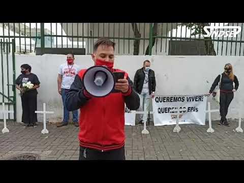 Ato pela vida e proteção dos trabalhadores do Hospital Municipal Dr. Arthur Ribeiro Saboya