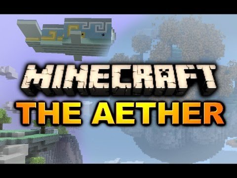 Minecraft: Aether Mod Adventure - Ep. 4 - Gold Dungeon Attempt #2
