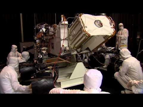 Building Curiosity: Mars Rover Goes From Shake to Bake