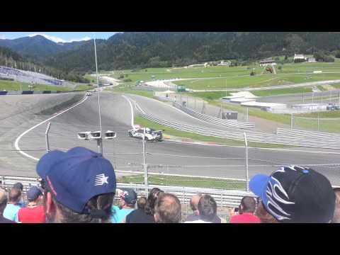 a4e bei den ADAC GT Masters in Spielberg 2012
