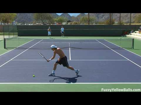 Tommy Haas hitting in High Definition