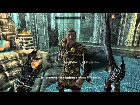 Skyrim : Killing Ulfric Stormcloak ( Final Imperial Mission )