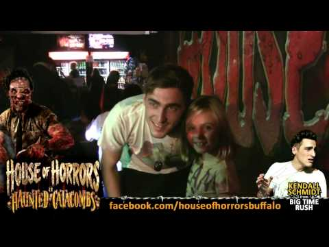 "Kendall Schmidt from ""Big Time Rush"" @ House of Horrors & Haunted Catacombs 2012"
