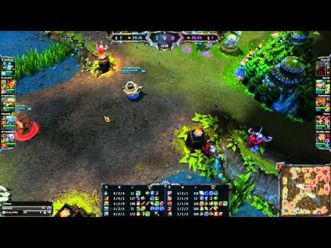 League of Legends - TSM vs v8 g3 - NESL Premiere League Playoffs