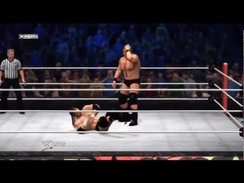WWE Summerslam: 2012 - Triple H vs. Brock Lesnar - Full Match