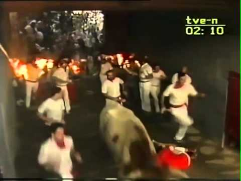 Encierro de San Fermín   13 de julio de 1987 480p