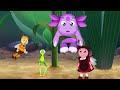 Фрагмент с средины видео - Лунтик и его друзья - 63 серия. Сбежавшее тесто