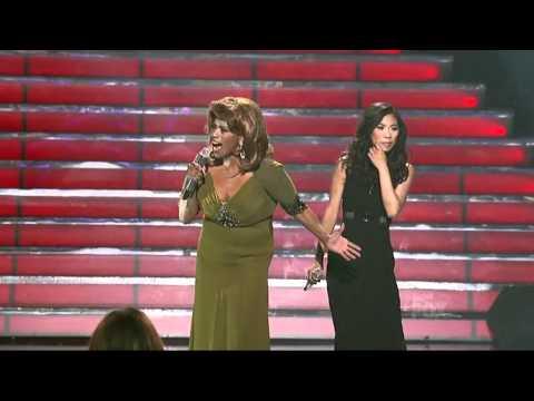 Jessica Sanchez Jennifer Holiday Epic Duet - And I'm telling you I'm not going