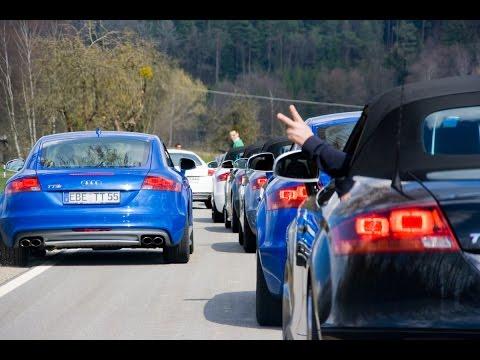 Audi TTS und Audi TTRS Ausfahrt