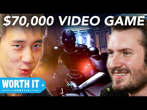$5 Video Game Vs. $70,000 Video Game - UCBUVGPsJzc1U8SECMgBaMFw