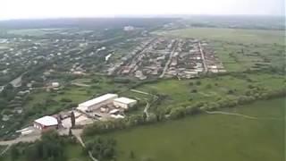 Житомир с высоты полета вертолета Robinson R44