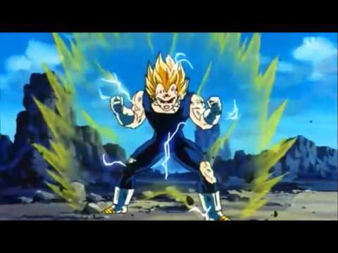DBZ - SSJ2 Goku vs Majin Vegeta (Part 2) [Full Fight] 720p HD