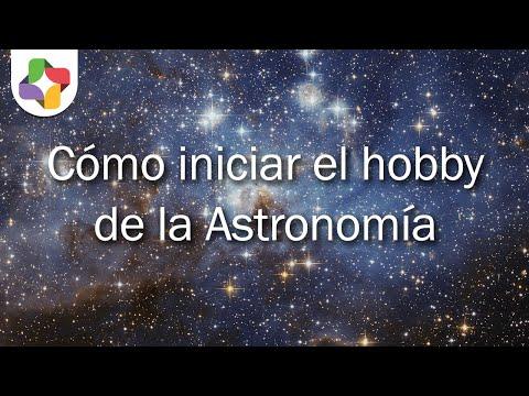 Como iniciar el hobby de la astronomía