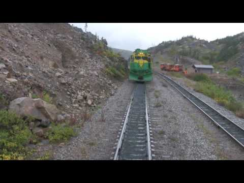 Alaska train, White Pass & Yukon Route Railroad Skagway, Alaska