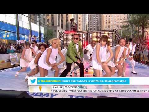 "HD Live ""PSY - Gangnam Style"" (강남스타일) on NBC's Today Show Sep. 14th 2012"