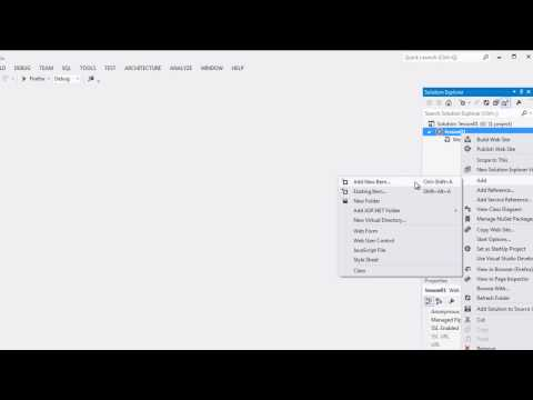 C# Tutorials in Tamil Part - 6 Create Pages