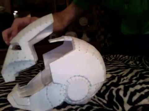 Ironman/ War Machine helmet (pepakura)