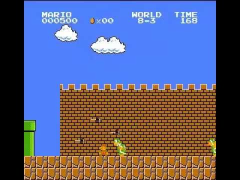 Super Mario Bros. - 600 points, no deaths