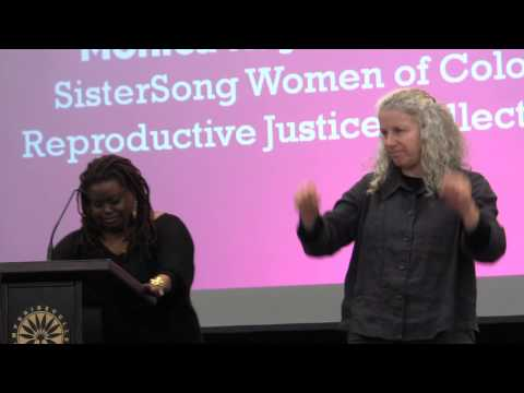 Monica Raye Simpson: Speaking Out for Reproductive Freedom, 2013