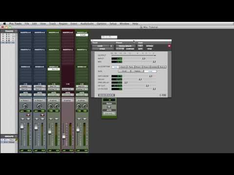 Pro Tools Tips & Tutorials: Busses and Aux Sends