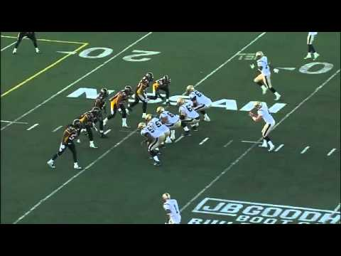 Jamall Johnson Hit On Buck Pierce Week 1 Ticats vs Blue Bombers CFL