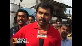 Karthi Flags Off O2 Car Rally For The Blind