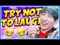 TRY NOT TO LAUGH CHALLENGE!! I FAILED! 😂 (Funny Kids Fail Compilation)