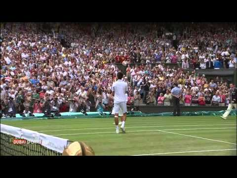 N.Djokovic v R.Nadal - Championship Point - Wimbledon 2011 final ( HD )