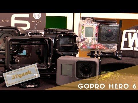 Test Gopro Hero 6, que vaut la plus chere des Gopro ? Vidéo en Français