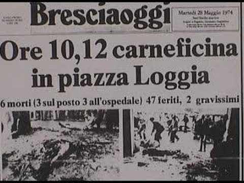 28 maggio 1974 - La strage fascista di Piazza della Loggia [Brescia]