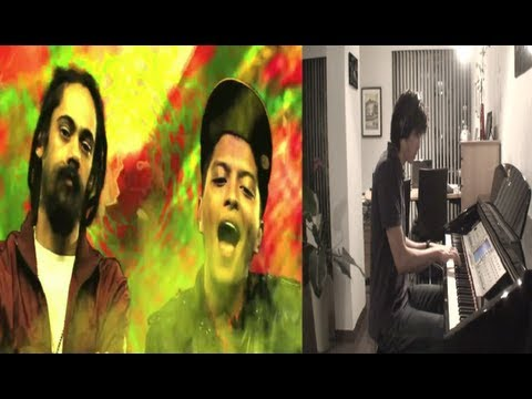 Liquor Store Blues - Bruno Mars ft. Damian Marley Piano Cover