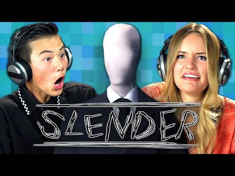 SLENDER (Teens React: Gaming)
