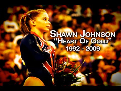 Gymnast Shawn Johnson Put To Sleep After Breaking Leg