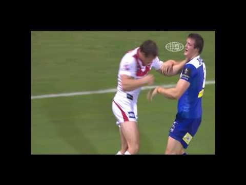 Funny NRL moment: Morris twins punch up on opp. teams