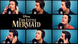 "Nick Pitera ""Kiss The Girl"" one man acapella cover Disney's The Little Mermaid"