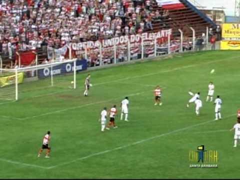 União Barbarense 1x2 Linense - Paulista A2 2010