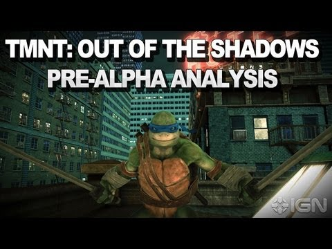 Teenage Mutant Ninja Turtles: Out of the Shadows Pre-Alpha Gameplay Analysis