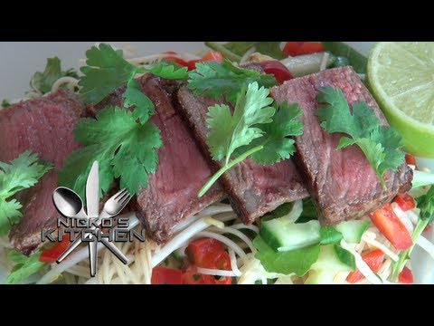 THAI BEEF NOODLES - Nicko's Kitchen