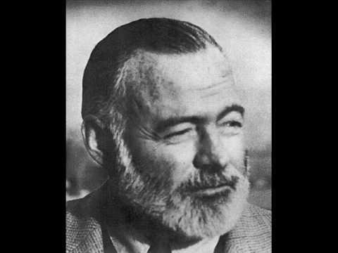 Ernest Hemingway Recording -NO_qovNelA0