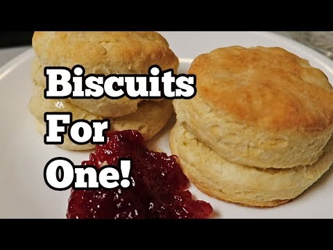 Biscuits for One (only 3 ingredients)