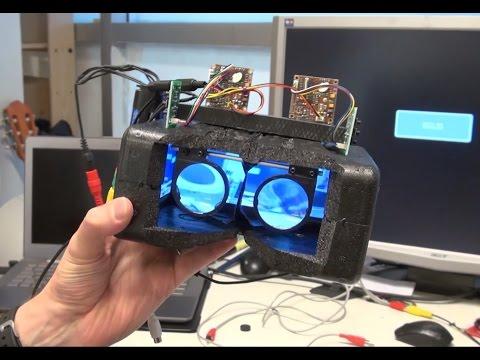 Fpv очки 3d своими руками
