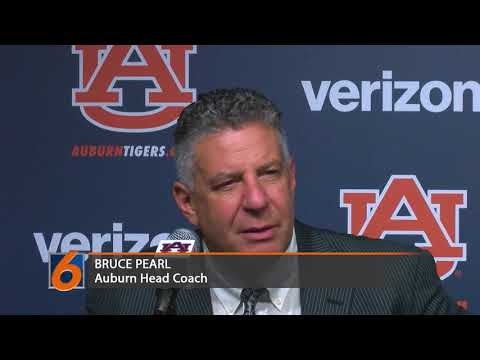 Bruce Pearl on Auburn's win over Norfolk State and the status of his team and the week he has had.